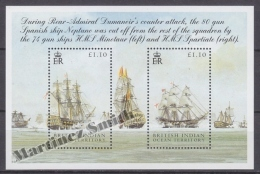British Indian Ocean 2005 Yvert BF 23, Bicentenary Of The Trafalgar Battleship  - Miniature Sheet- MNH - British Indian Ocean Territory (BIOT)