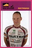 Cycliste - Cyclisme - SIERD STEIGENGA - Ruiter Dakkapellen - Sponsor - Pub - Ciclismo