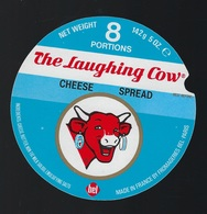 """Etiquette Fromage La Vache Qui Rit  """"   The Laughing Cow Cheese Spread  8 Portions  """" - Fromage"""