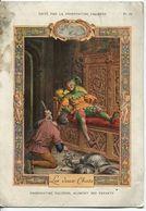 Chromos Phosphatine Falières - Les Deux Chats Fable De Florian - Trade Cards