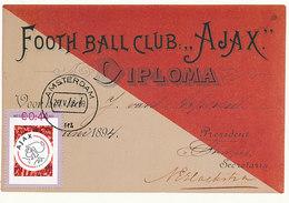 D32817 CARTE MAXIMUM CARD RR 2008 NETHERLANDS - AJAX AMSTERDAM CP ORIGINAL - Famous Clubs