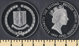 British Virgin Islands 1 Dollar 1992 - Islas Vírgenes Británicas