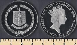 British Virgin Islands 1 Dollar 1992 - British Virgin Islands