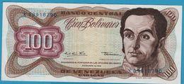 VENEZUELA 100 Bolivares  Simón Bolívar12.12.1978Serial# K09918790 P# 55e - Venezuela