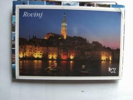 Kroatië Croatia Rovinj By Night - Kroatië