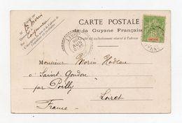 !!! PRIX FIXE : GUYANE, CPA DE CAYENNE DE 1905 POUR LA FRANCE - Guyane Française (1886-1949)