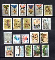 Africa Del Sur  1990-91  .-   Y&T  Nº   725/729-730/733-735-737-739-740/741-742-744/745-746-748/750 - Usados