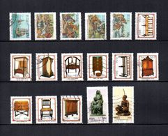 Africa Del Sur  1992  .-   Y&T  Nº   751/755-756/765-772/773 - Usados
