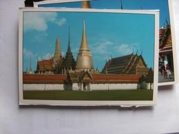 Thailand Bangkok The Emerald Buddha Temple Inside - Thailand