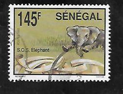 TIMBRE OBLITERE DU SENEGAL DE 1994 N° MICHEL 1313 - Senegal (1960-...)