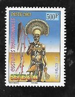 TIMBRE OBLITERE DU SENEGAL DE 2003 N° MICHEL 2020 - Senegal (1960-...)