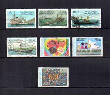 Africa Del Sur  1994  .-   Y&T  Nº   839-841/843-844-846/847 - Usados