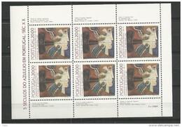 1985 MNH Portugal, Azulejos 19,  Postfris - Blocs-feuillets