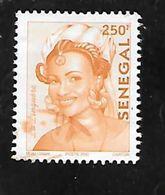 TIMBRE OBLITERE DU SENEGAL DE 2002 N° MICHEL 1970 - Senegal (1960-...)