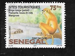TIMBRE OBLITERE DU SENEGAL DE 2008 N° MICHEL 2128 - Senegal (1960-...)