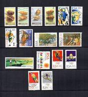 Africa Del Sur  1995-96  .-   Y&T  Nº   891/894-896/897-901-902-903/904-905-906-907/908-911-912 - Usados