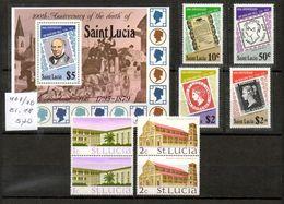 St.Lucia - Schöne Lot. 3 Bilder - St.Lucia (1979-...)
