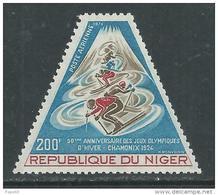 Niger PA  N° 226 XX  50ème Anniversaire Des Jeux Olympiques D'hiver De Chamonix Sans Charnière, TB - Niger (1960-...)