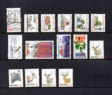 Africa Del Sur  1997-98  .-   Y&T  Nº   963-966/970-977-978-990-997-998/1002 - Usados