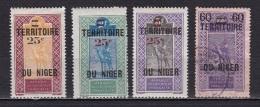 Niger N°18*,19*,20*,21 - Ungebraucht