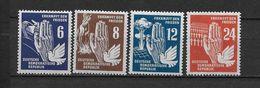 LOTE 1656  ///  (C010)  ALEMANIA ORIENTAL DDR   YVERT Nº: 28/31 *MH  //   CATALOG.2014/COTE: 8 € - [6] República Democrática