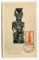 !!! CARTE MAXIMUM DU CONGO BELGE, CACHET DE LEOPOLDVILLE DE 1951 - Maximumkarten (MC)