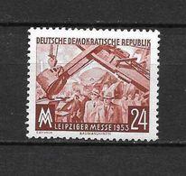 LOTE 1656  ///  (C010)  ALEMANIA ORIENTAL DDR   YVERT Nº: 113 *MH  //   CATALOG.2014/COTE: 1 € - [6] República Democrática