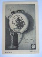 Vloeipapier Buvard Hulstkamp Luxe Jenever Kruik Glas Form 11,5 X 16,4 Cm - Drank & Bier