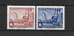 LOTE 1656  ///  (C010)  ALEMANIA ORIENTAL DDR   YVERT Nº: 239/240 *MH  //   CATALOG.2014/COTE: 1,75 € - [6] República Democrática