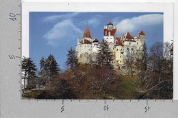 CARTOLINA NV ROMANIA - Unique Places Of ROMANIA - Castelul BRAN - 11 X 18 - Romania