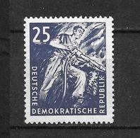 LOTE 1656  ///  (C010)  ALEMANIA ORIENTAL DDR   YVERT Nº: 296 *MH  //   CATALOG.2014/COTE: 3.40 € - [6] República Democrática