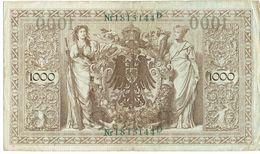 Billet - ALLEMAGNE - 1000 Mark - Berlin 21 Avril 1910 - 1871-1918: Deutsches Kaiserreich