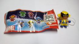 (429) - Kinder Marvel - FT 166 +  BPZ - Monoblocs