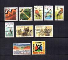 Africa Del Sur  1999-2000  .-   Y&T  Nº   1080/1081-1086-1089/1091-1094/1095-1096-1097 - Usados