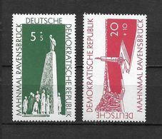 LOTE 1657  ///  (C010)  ALEMANIA ORIENTAL DDR   YVERT Nº: 291/292 *MH  // - [6] República Democrática