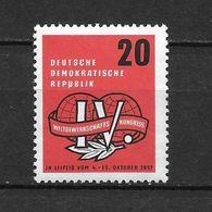 LOTE 1657  ///  (C010)  ALEMANIA ORIENTAL DDR   YVERT Nº: 311 *MH - [6] República Democrática