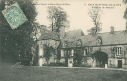 50 SAINTE MARIE DU MONT / Propriété De Brécourt - France