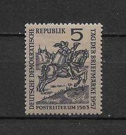 LOTE 1657  ///  (C010)  ALEMANIA ORIENTAL DDR   YVERT Nº: 325 *MH - [6] República Democrática