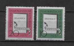 LOTE 1657  ///  (C010)  ALEMANIA ORIENTAL DDR   YVERT Nº: 323/324 *MH - [6] República Democrática