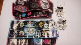 (435) - 2  Kinder's Star Wars - TR 201 + Var. + 4  BPZ - Mountables