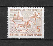 LOTE 1657  ///  (C010)  ALEMANIA ORIENTAL DDR   YVERT Nº: 293 *MH - [6] República Democrática