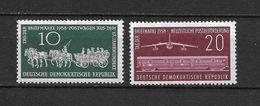 LOTE 1657  ///  (C010)  ALEMANIA ORIENTAL DDR   YVERT Nº: 377/378 *MH - [6] República Democrática