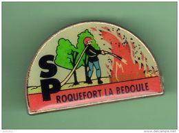 SAPEURS POMPIERS *** ROQUEFORT LA BEDOULE *** A053 - Firemen
