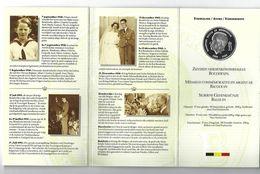 BELGIE - BELGIQUE M/32 Herdenkingsmedaille Boudewijn ZILVER - 1993 - 1951-1993: Baudouin I