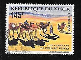 TIMBRE OBLITERE DU NIGER DE 1989 N° MICHEL 1085 - Niger (1960-...)