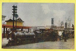 * Antwerpen - Anvers - Antwerp * (Géo M. Potié, K Nr 35) Expo 1930, Liliput Trein, Train, Locomotive, Animée, Gare, TOP - Antwerpen