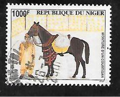 TIMBRE OBLITERE DU NIGER DE 1995 N° MICHEL 1166 - Niger (1960-...)