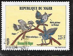 TIMBRE OBLITERE DU NIGER DE 2002 N° MICHEL 1987 - Niger (1960-...)