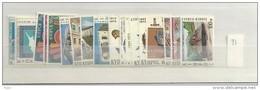 1973 MNH Cyprus, Year Collection, Postfris ** - Zypern (Republik)