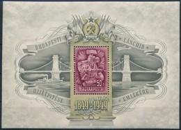 ** 1949 Lánchíd (III.) Blokk (80.000) - Timbres
